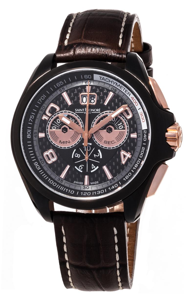 Часы Saint Honore Coloseo Black Racing Disc Chronograph L.E. 898069 78CIR