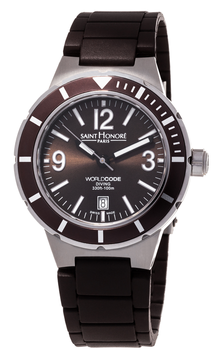 Часы Saint Honore Worldcode Diving 861204 71MBN