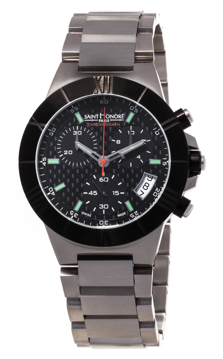 Часы Saint Honore Worldcode Quartz Chronograph 890118 71CINO