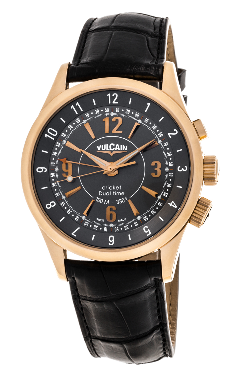 Часы Vulcain Aviator Dual Time 100505.022L