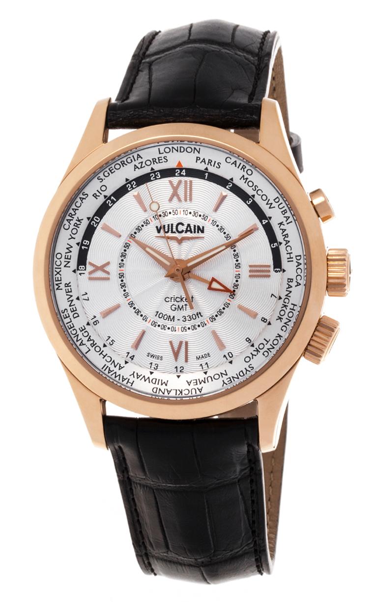 Часы Vulcain Aviator GMT 100508.145L