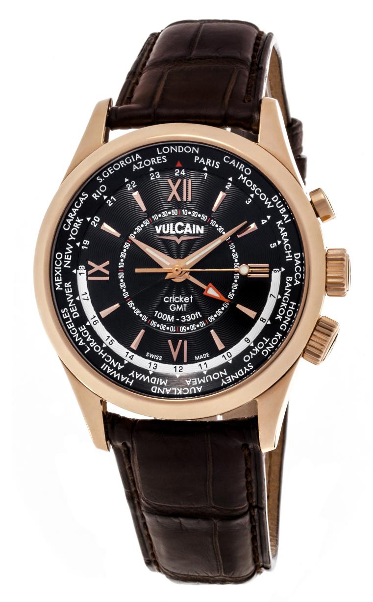 Часы Vulcain Aviator GMT 100508.146L