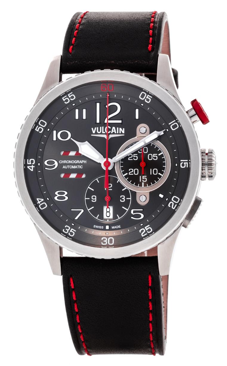 Часы Vulcain Aviator Instrument Chronograph 590163A17.BFC006