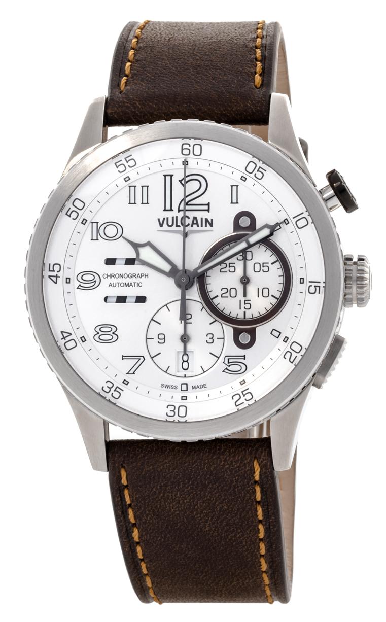 Часы Vulcain Aviator Instrument Chronograph 590163A27.BFC002