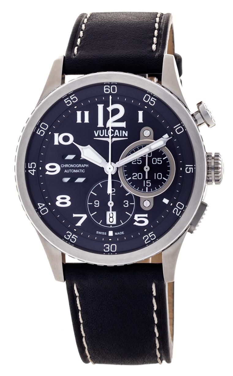Часы Vulcain Aviator Instrument Chronograph 590163A37.BFC010