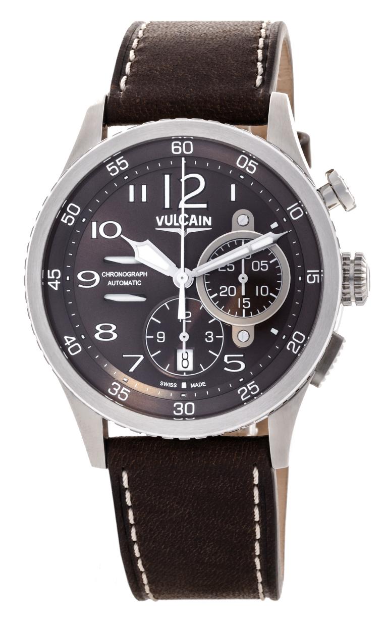 Часы Vulcain Aviator Instrument Chronograph 590163A47.BFC008