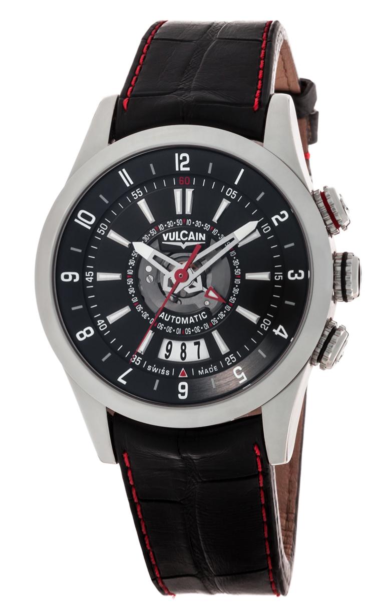 Часы Vulcain Revolution Dual Time 210130.196LF