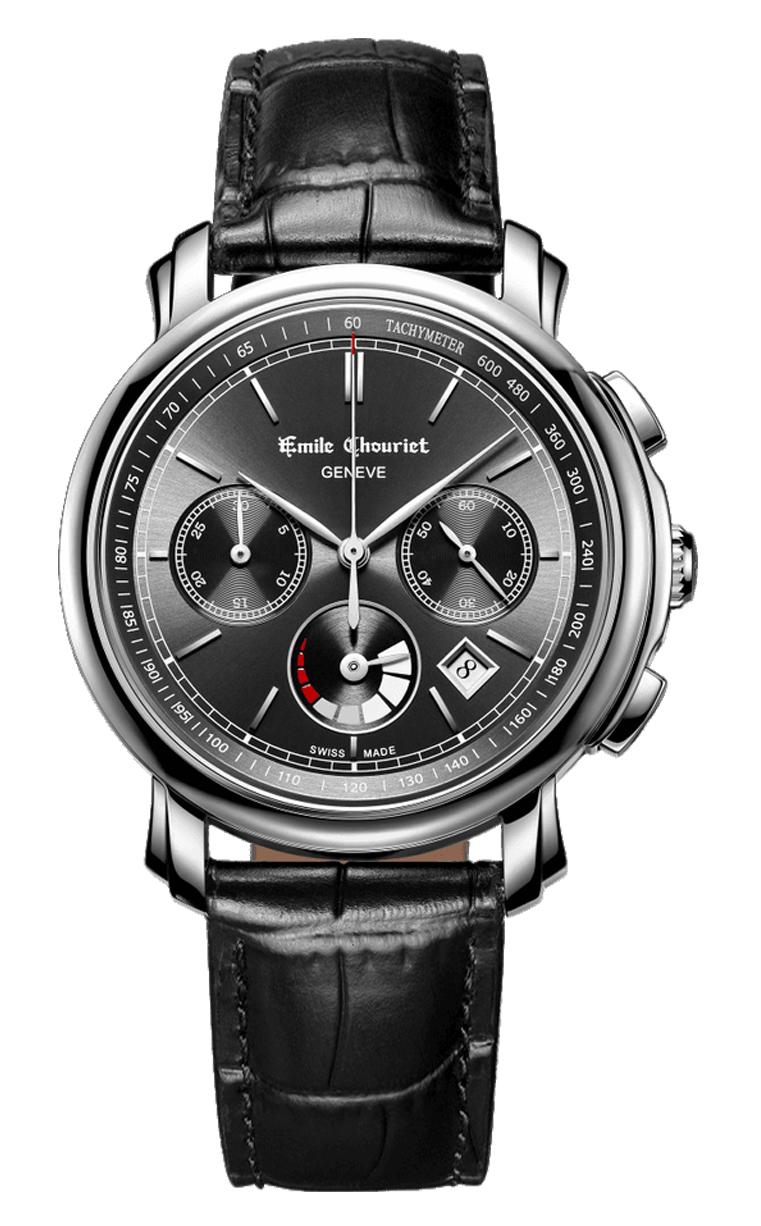 Часы Emile Chouriet Lac Leman 42 mm 16.1168.G42.6.8.68.22