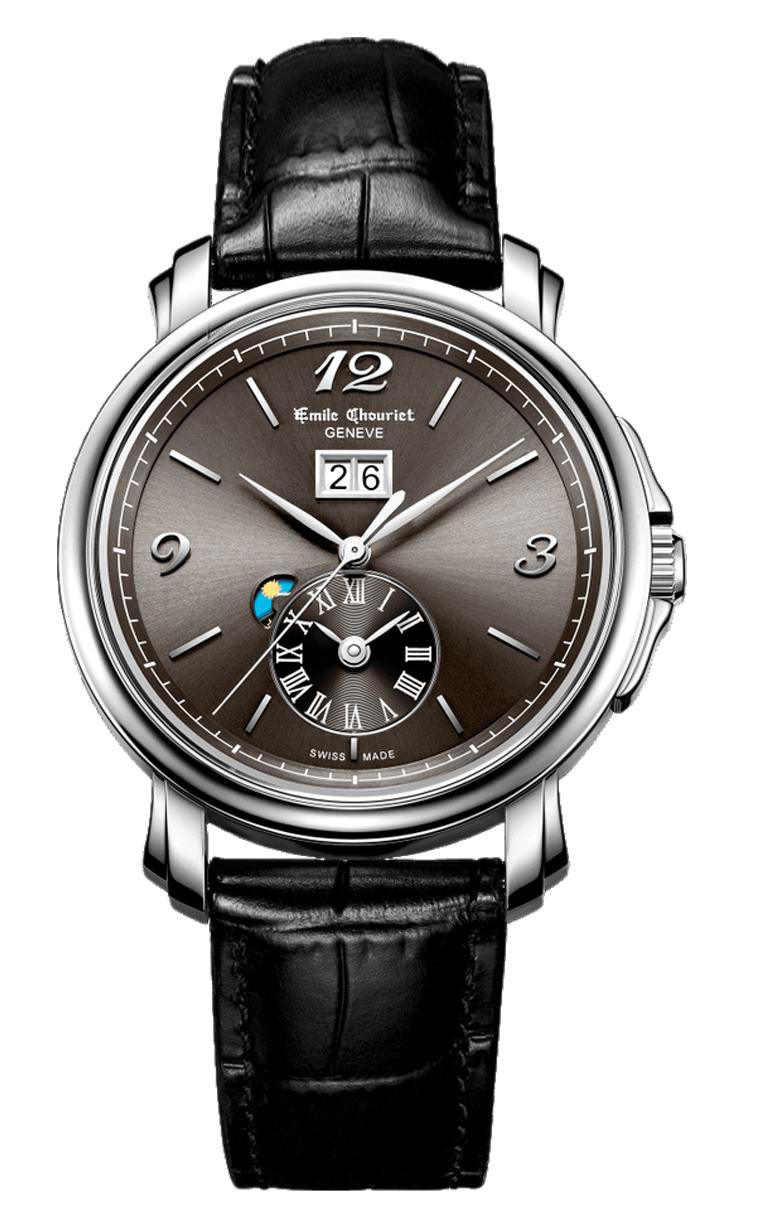 Часы Emile Chouriet Lac Leman 42 mm 15.1168.G42.6.8.68.2