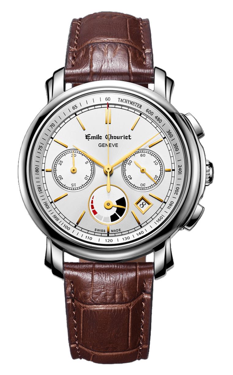 Часы Emile Chouriet Lac Leman 42 mm 16.1168.G42.6.8.28.2