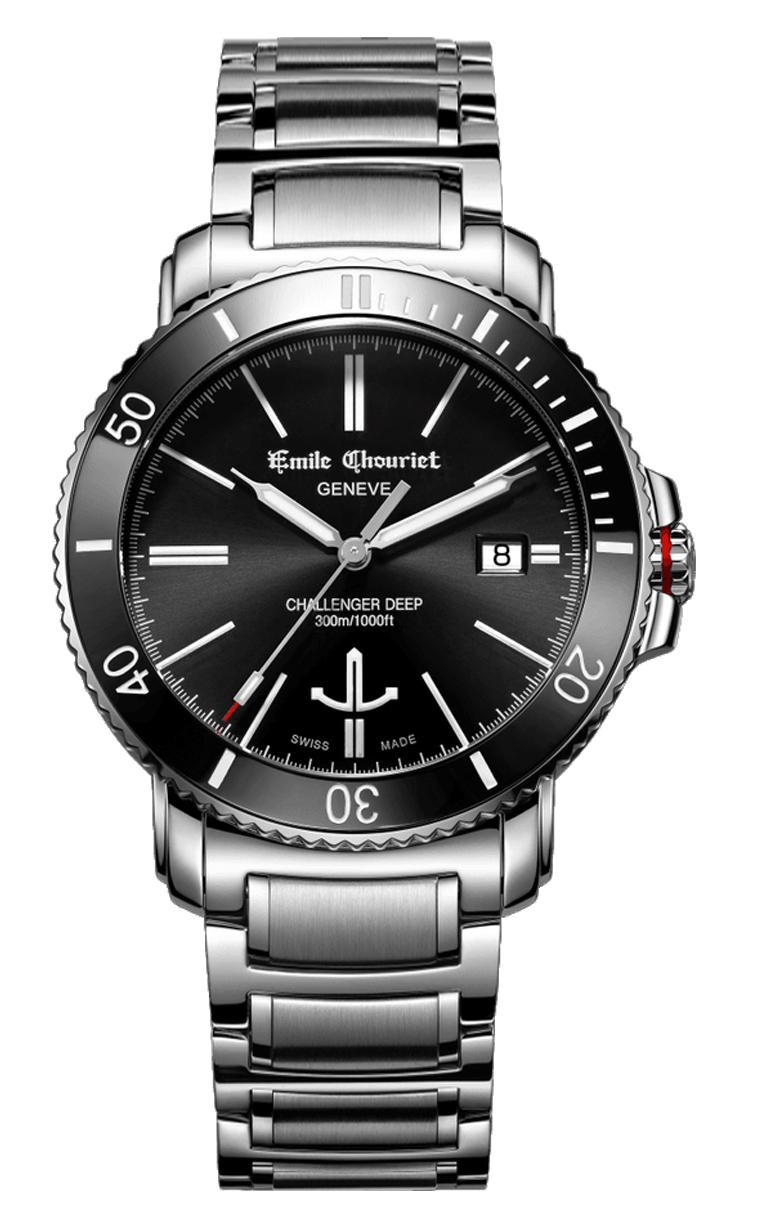 Часы Emile Chouriet Challenger Deep 42.5 mm 08.1169.G.6.AW.58.6