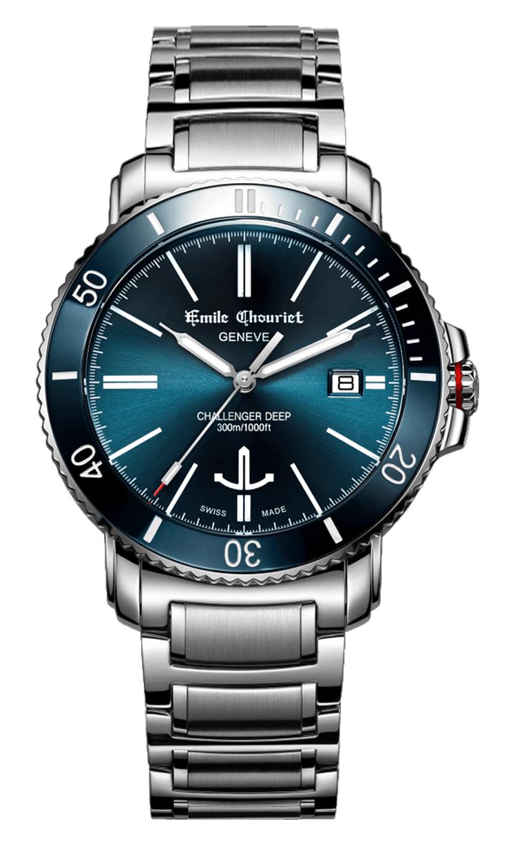 Часы Emile Chouriet Challenger Deep 42.5 mm 08.1169.G.6.AW.98.6