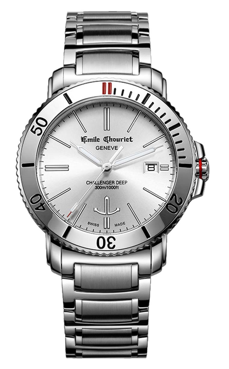 Часы Emile Chouriet Challenger Deep 42.5 mm 08.1169.G.6.W.28.6