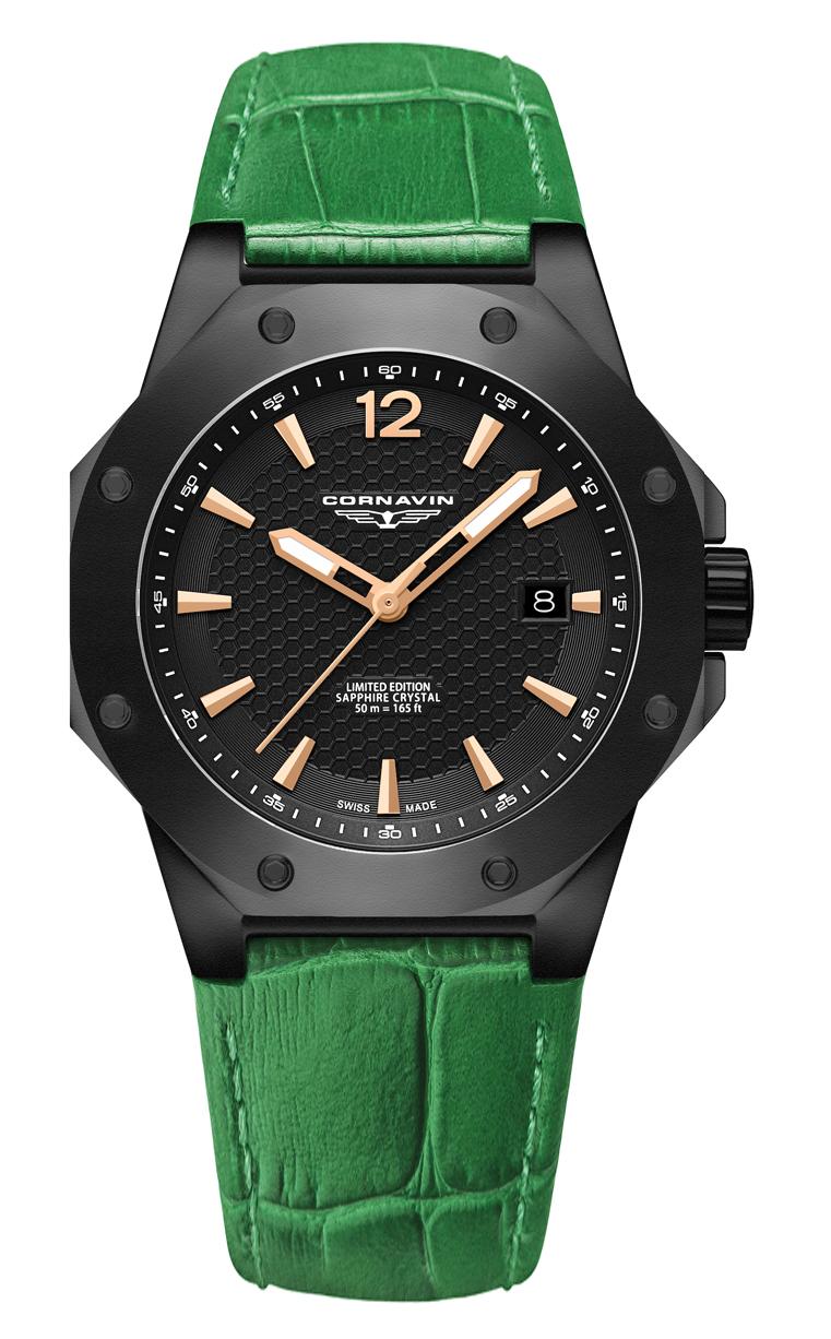 Часы Cornavin CO 2021-2009 Downtown 3-H 41mm купить
