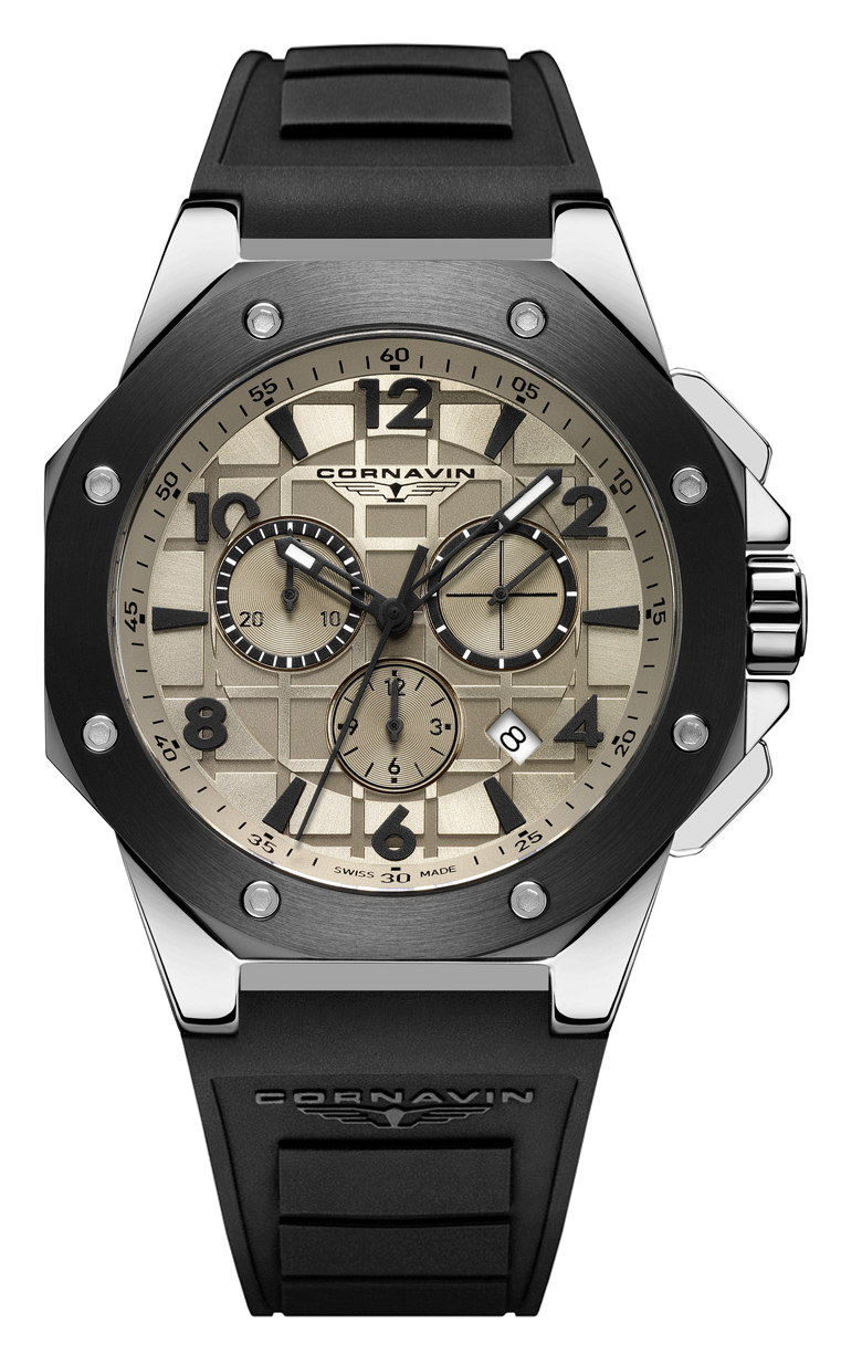 Часы Cornavin CO 2012-2006R Downtown Sport 44.5mm купить