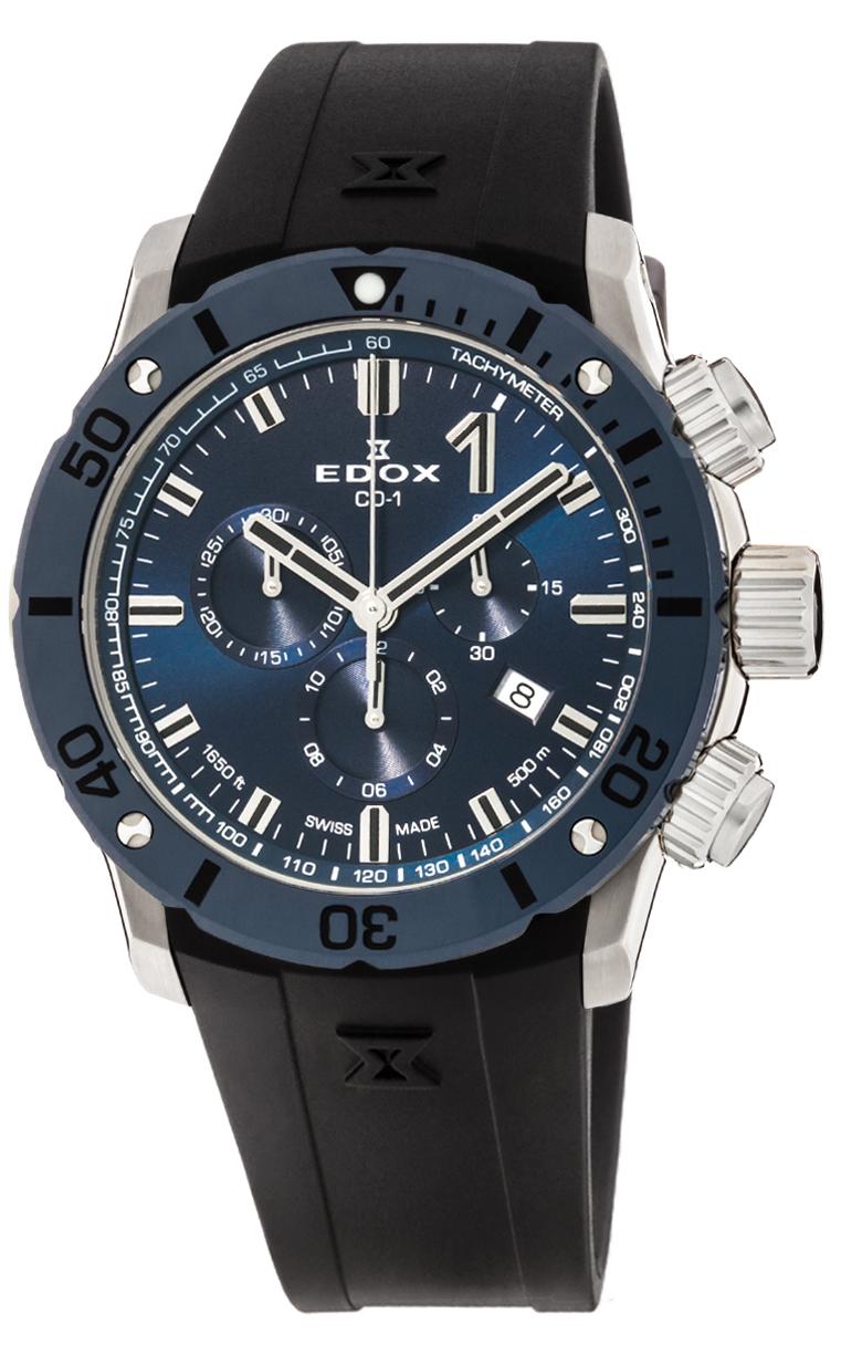 Часы Edox Class 1 Chronograph 10221 3BU7 BUIN7
