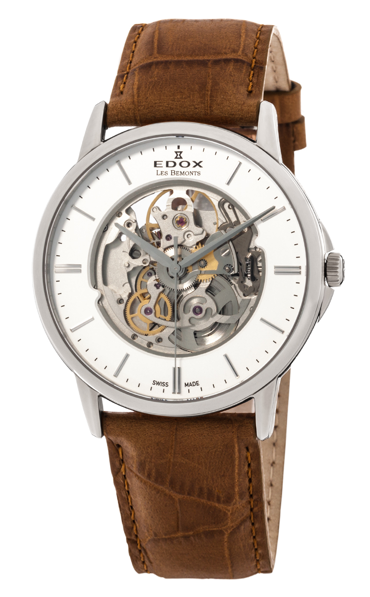 Часы Edox Les Bemonts Automatic Shade Of Time 85300 3AIN
