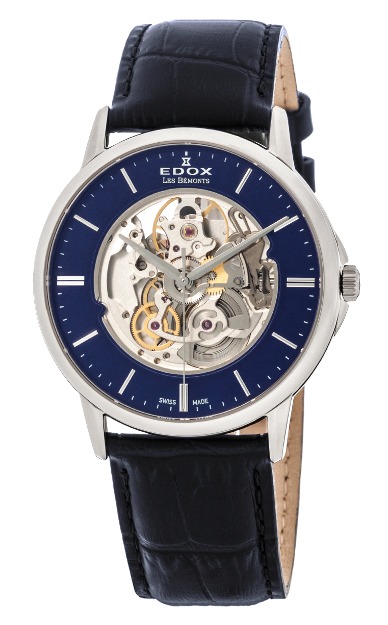 Часы Edox Les Bemonts Automatic Shade Of Time 85300 3BUIN