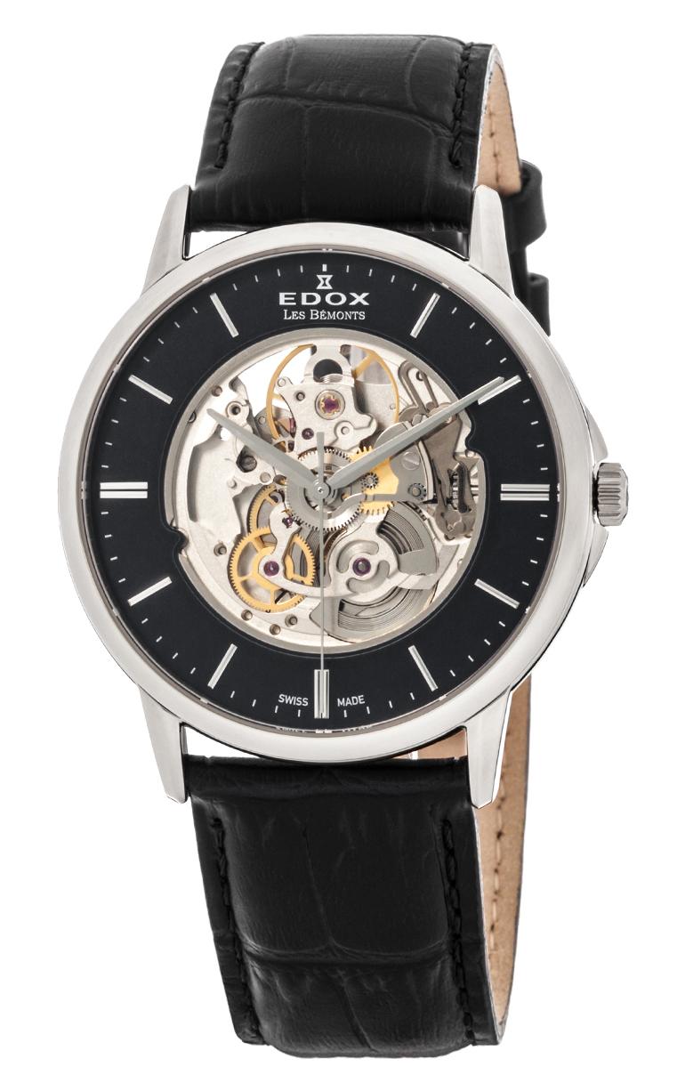 Часы Edox Les Bemonts Automatic Shade Of Time 85300 3NIN
