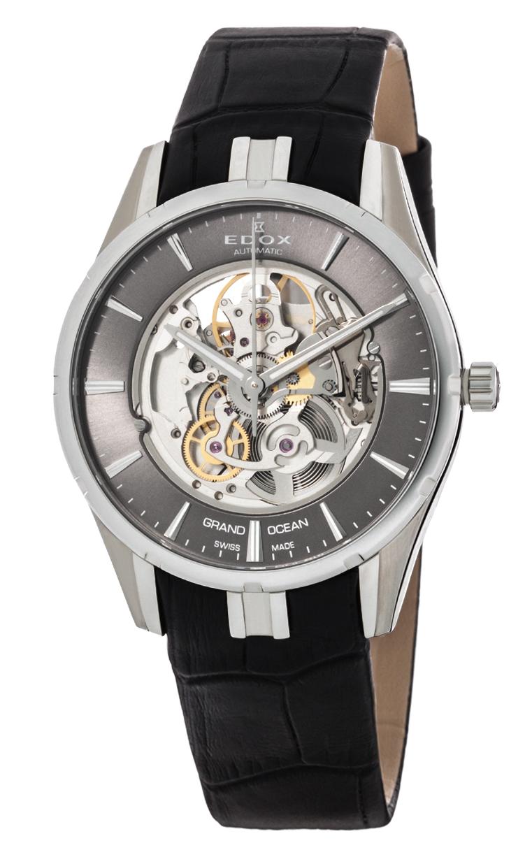 Часы Edox Grand Ocean Automatic Phantom Of Time 85301 3 GIN