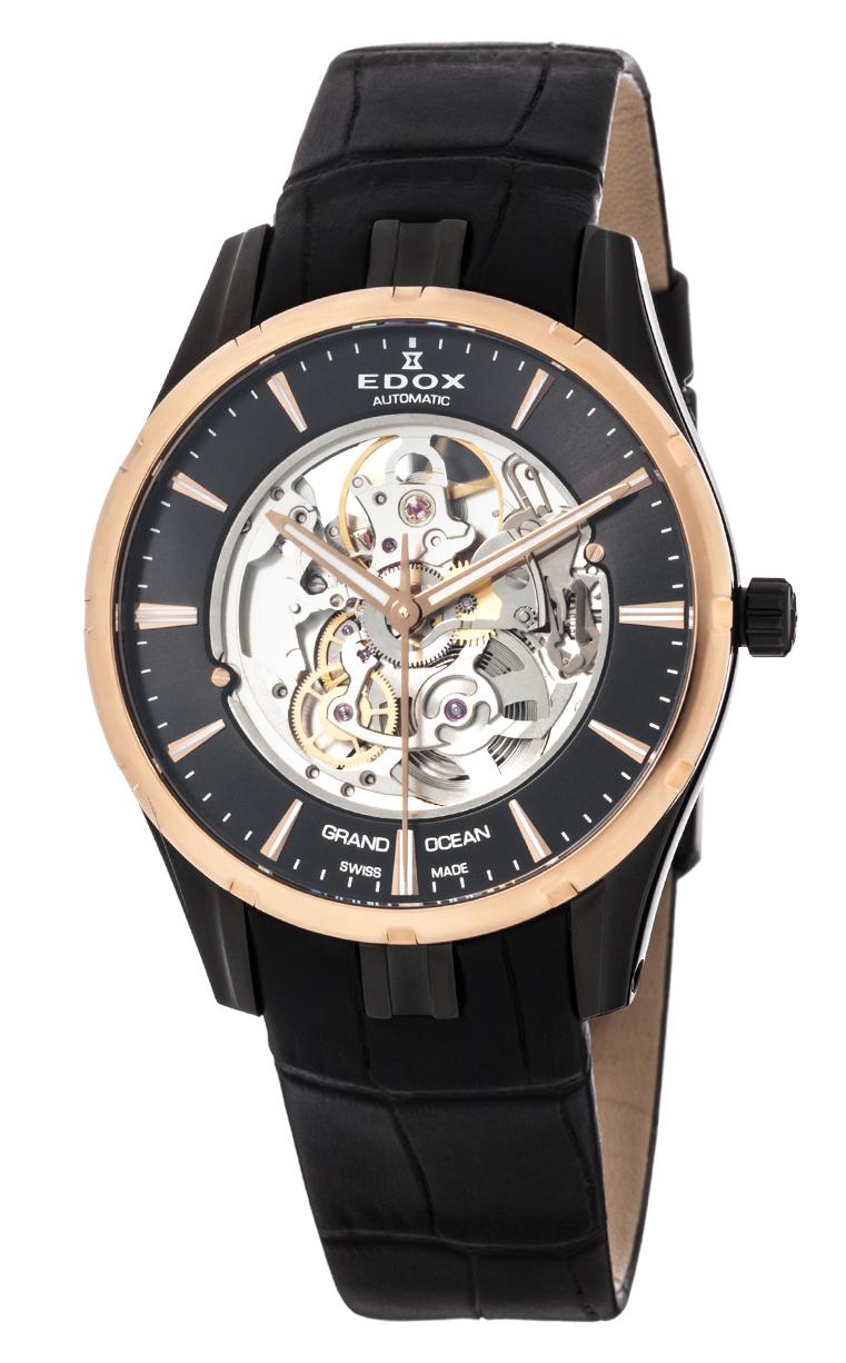 Часы Edox Grand Ocean Automatic Phantom Of Time 85301 357RN NIR