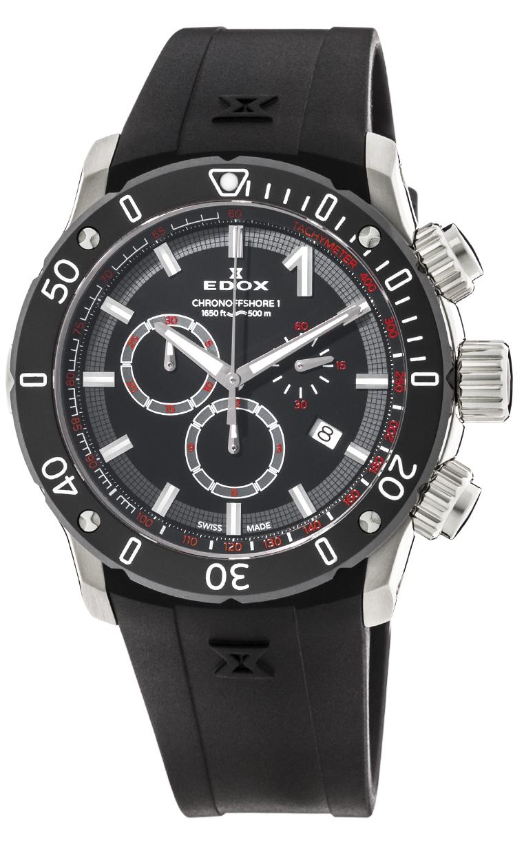 Часы Edox CO-1 Chronograph 10221 3 NIN