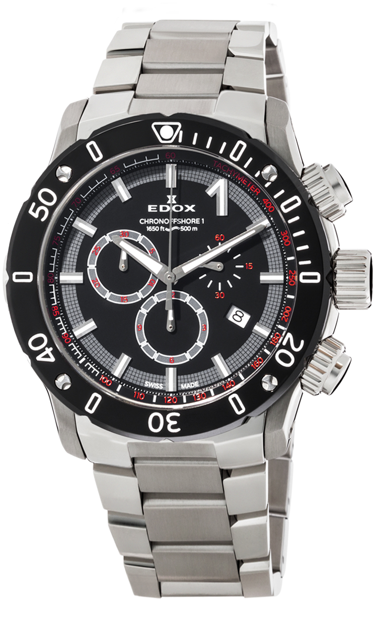 Часы Edox CO-1 Chronograph 10221 3M NIN
