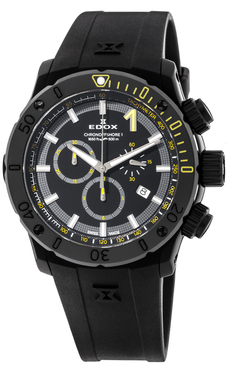 Часы Edox CO-1 Chronograph 10221 37N NINJ