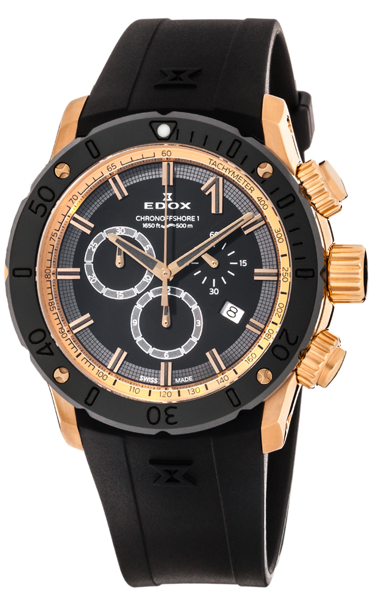 Часы Edox CO-1 Chronograph 10221 37R NIR