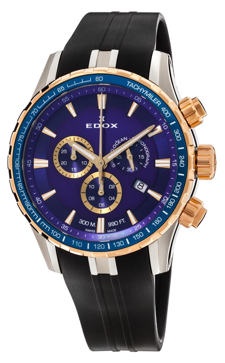 Часы Edox Grand Ocean Chronograph 10226 357JBUCA BUID