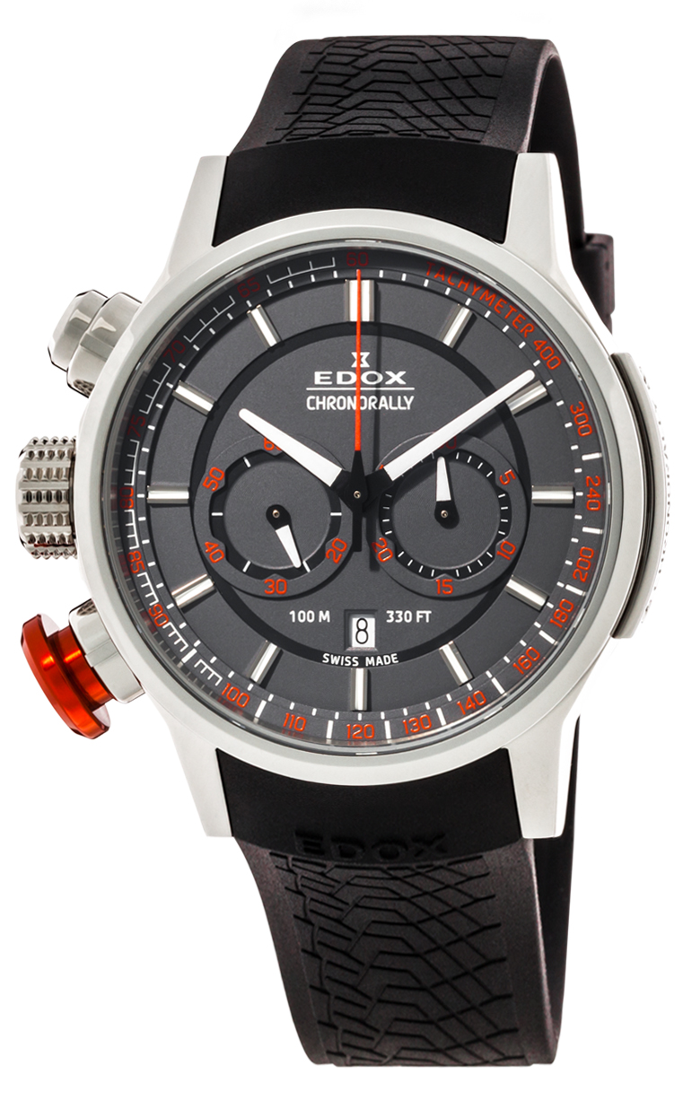 Часы Edox Chronorally Chronograph 10302 3 GR3