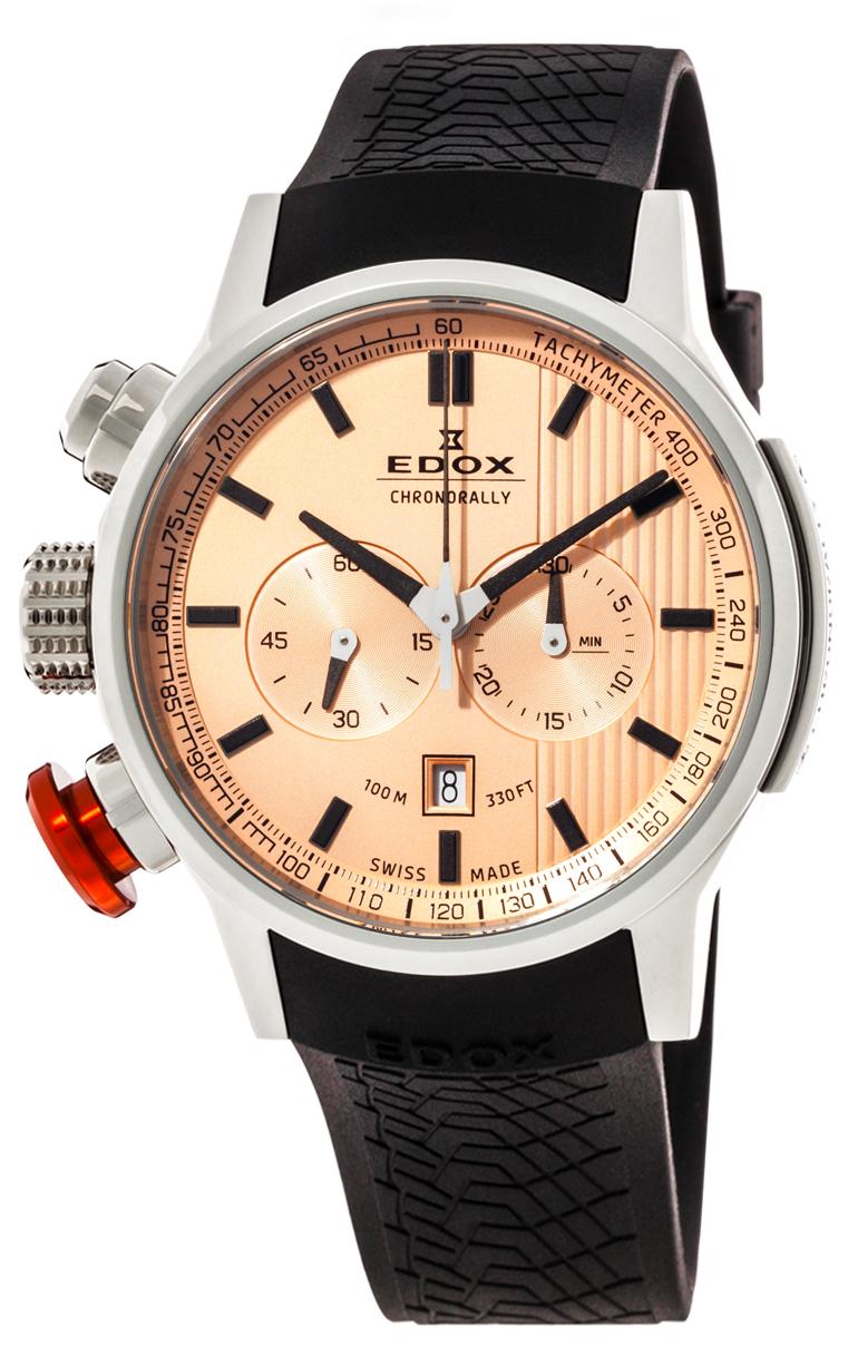 Часы Edox Chronorally Chronograph 10302 3 ROIN