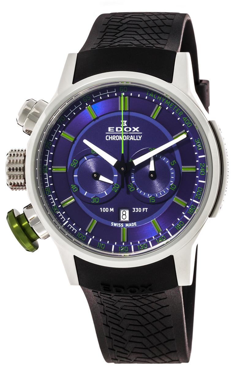 Часы Edox Chronorally Chronograph 10302 3V2 BUV3