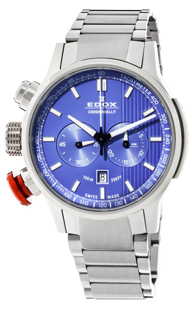Часы Edox Chronorally Chronograph 10302 3M BUIN