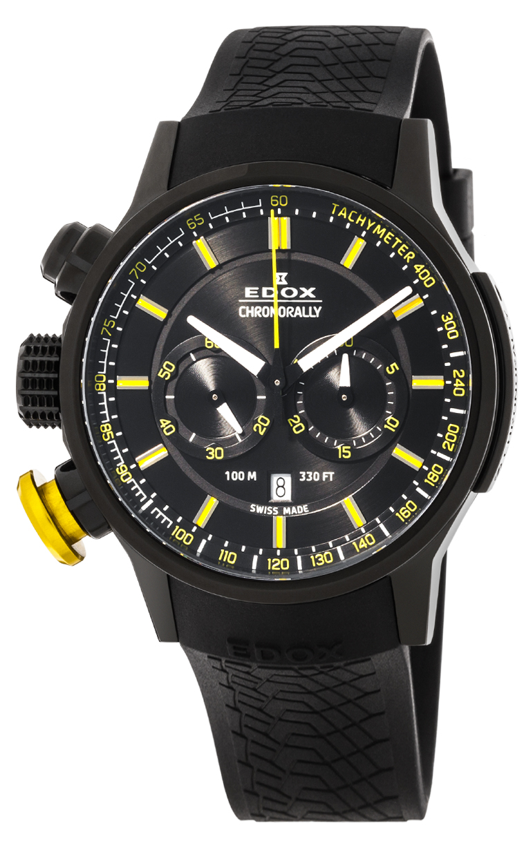 Часы Edox Chronorally Chronograph 10302 37NJ NOJ3