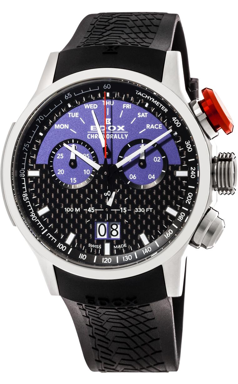 Часы Edox Chronorally Sauber L.E. 38001 TIN1 NBUJ