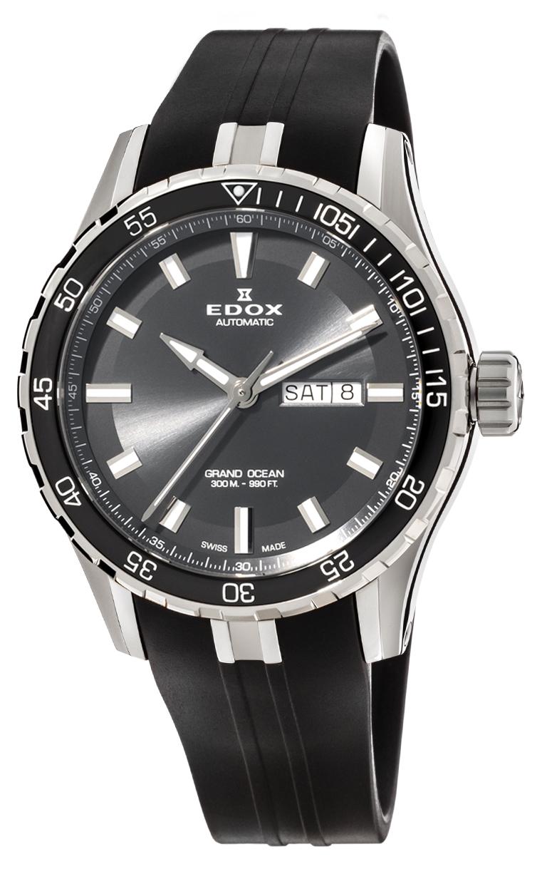 Часы Edox Grand Ocean Day Date Automatic 88002 3CA NIN
