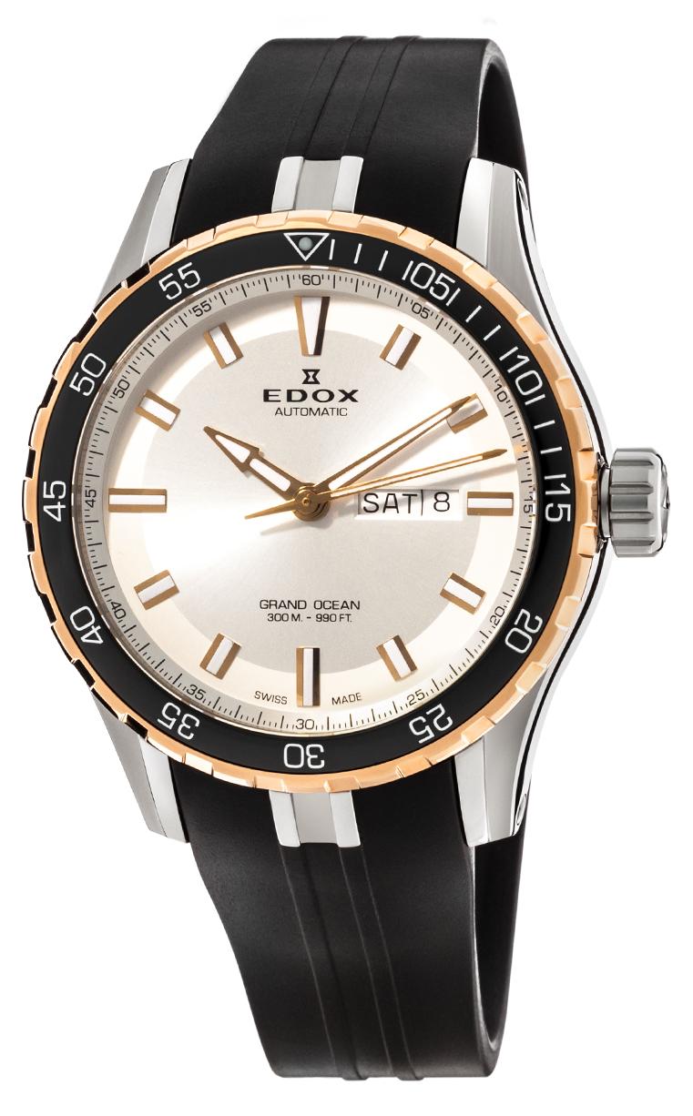 Часы Edox Grand Ocean Day Date Automatic 88002 357RCA AIR