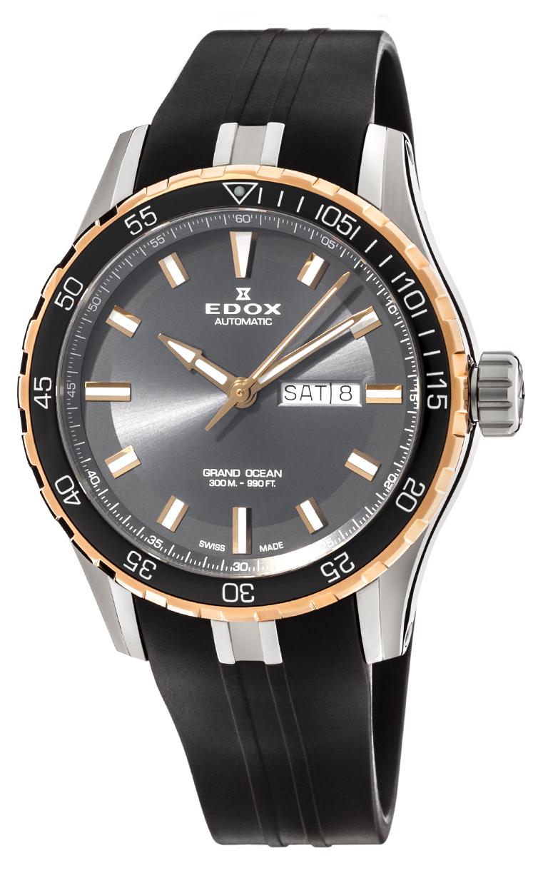 Часы Edox Grand Ocean Day Date Automatic 88002 357RCA NIR