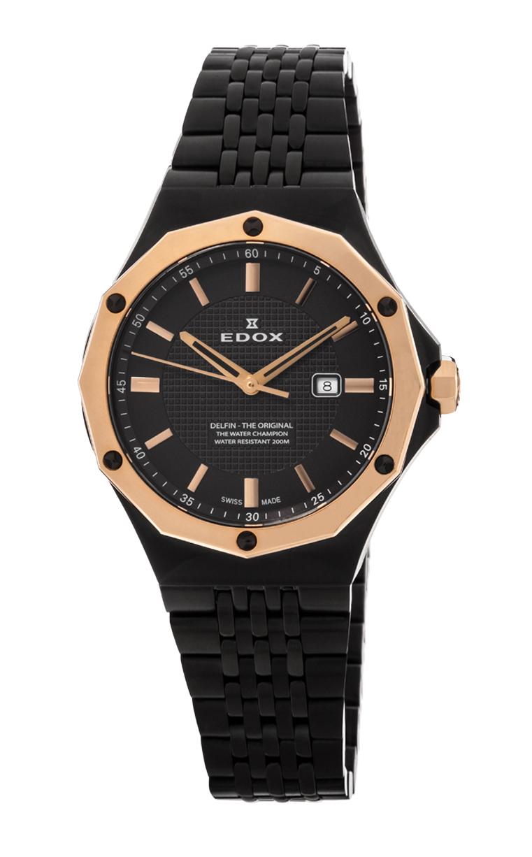 Часы Edox Delfin 3-Hands 54004 37GRM GIR