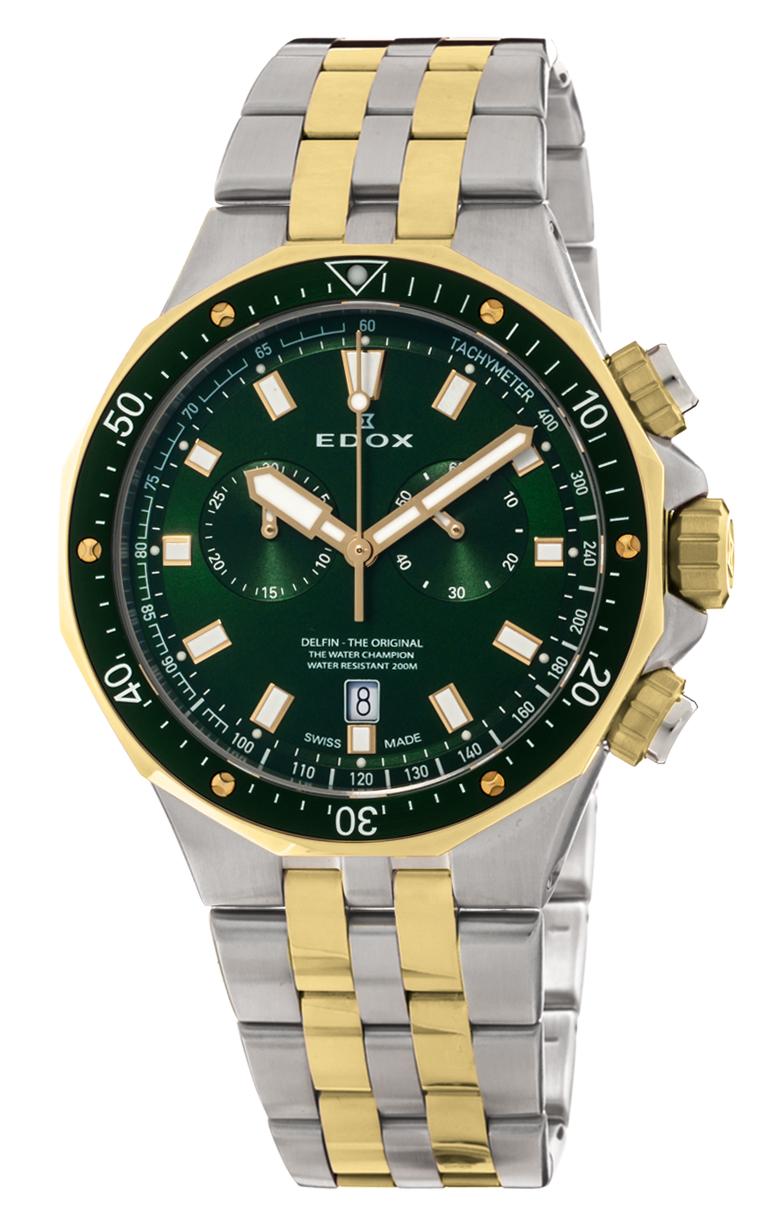 Часы Edox Delfin Chronograph 10109 357JVM VID