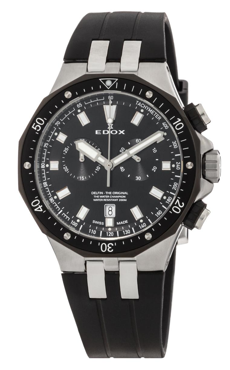 Часы Edox Delfin Chronograph 10109 357NCA NIN