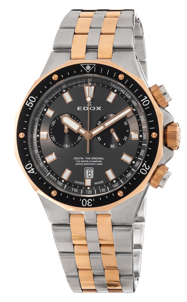 Часы Edox Delfin Chronograph 10109 357RBUM NIR