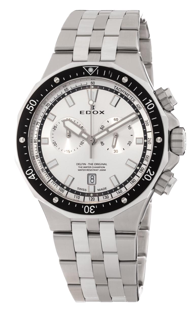 Часы Edox Delfin Chronograph 10109 3M AIN