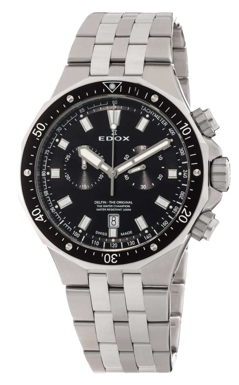 Часы Edox Delfin Chronograph 10109 3M NIN