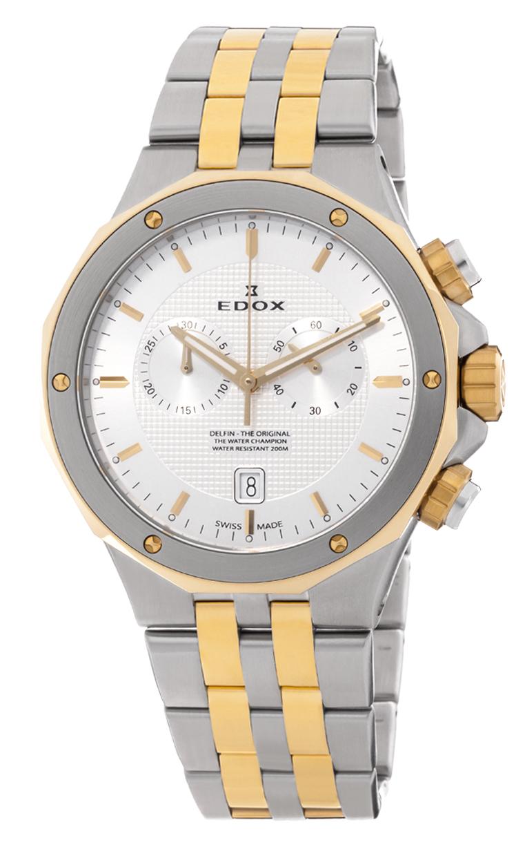 Часы Edox Delfin Chronograph 10110 357JM AID