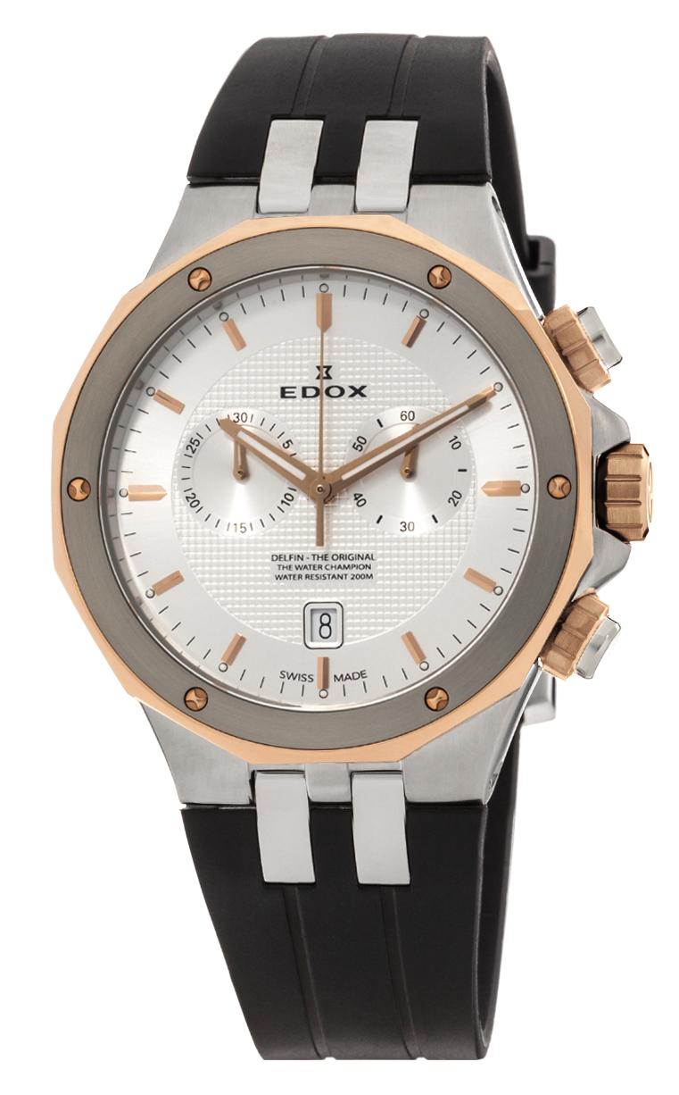 Часы Edox Delfin Chronograph 10110 357RCA AIR