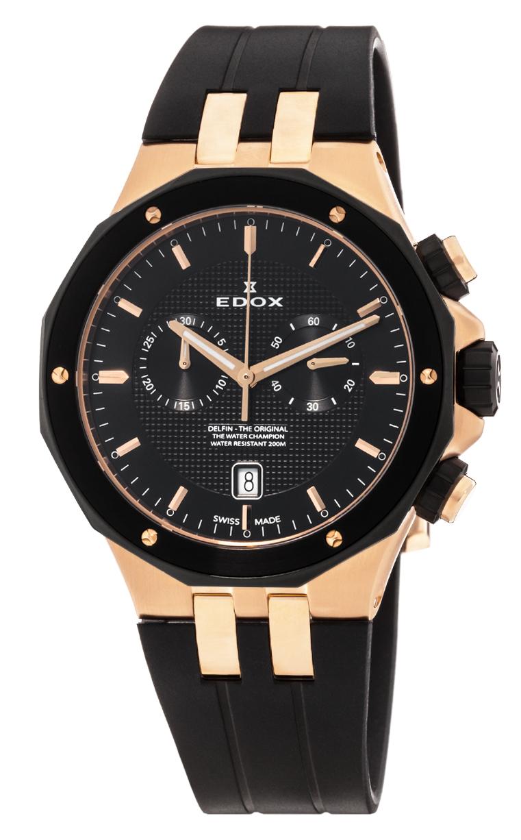 Часы Edox Delfin Chronograph 10110 357RNCA NIR