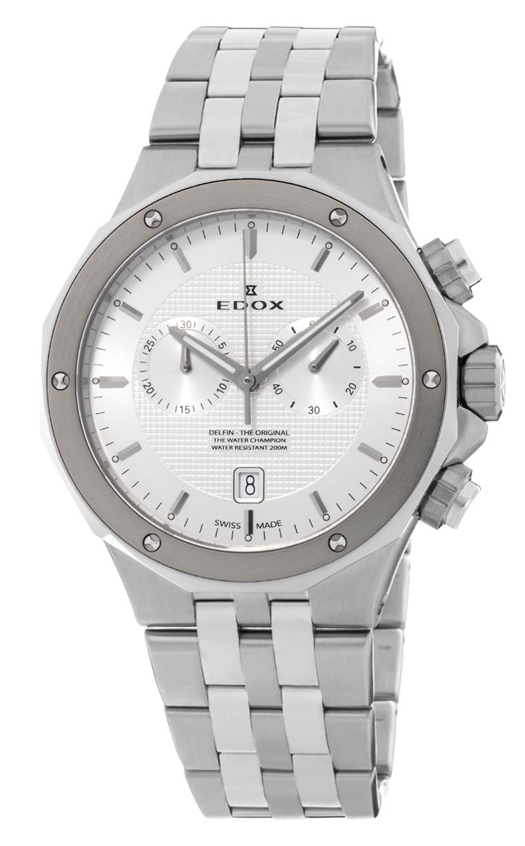 Часы Edox Delfin Chronograph 10110 3M AIN