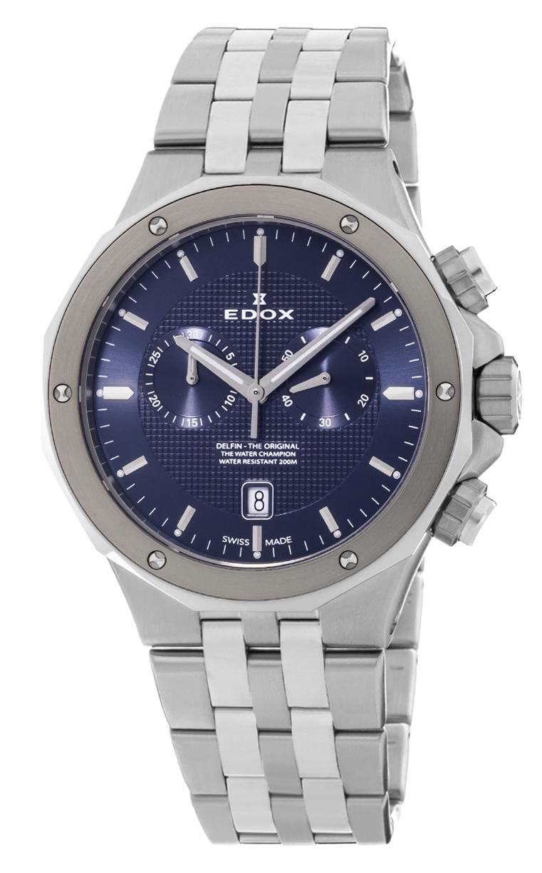 Часы Edox Delfin Chronograph 10110 3M BUIN